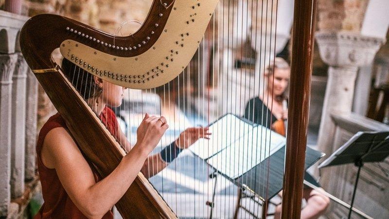 Concerto con arpa