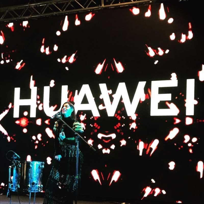 huawey live evento