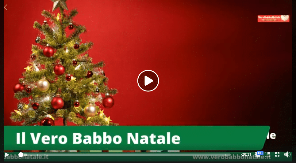 il vero Babbo Natale online